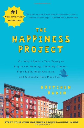 the happiness project book via 4 Books Every Bride Should Read