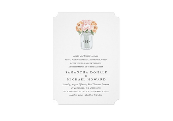 ticket shaped wedding invitation via uniquely shaped wedding invitations
