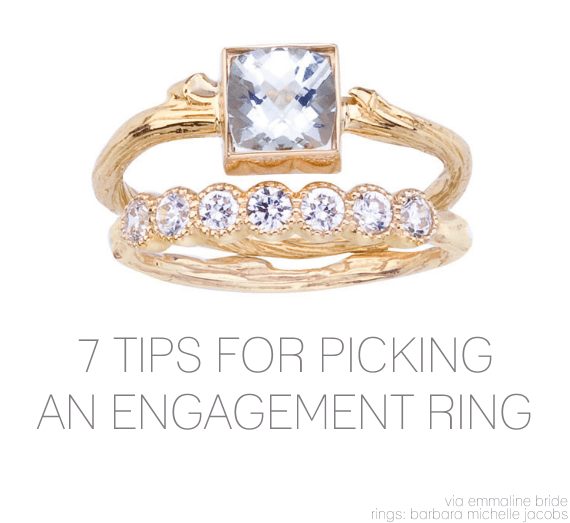 7 Tips for Picking an Engagement Ring