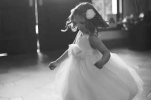 twirling cotton flower girl dresses