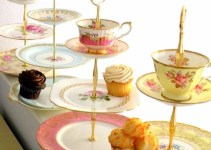 vintage china cupcake stand