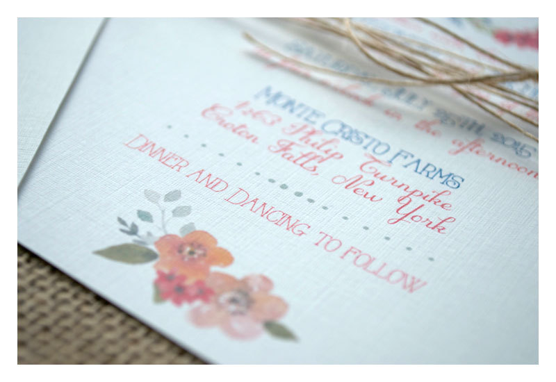 Boho wreath wedding invitation | http://emmalinebride.com/invites/boho-wreath-wedding-invitation/