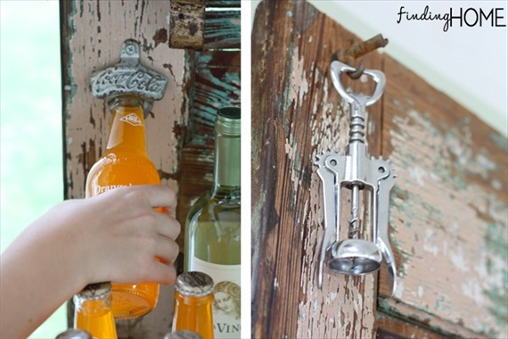 Wedding Drink Station Ideas - bottle opener + corkscrew