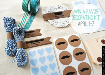 wedding favor decorating kit