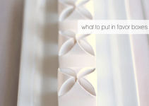 what to put in favor boxes wedding