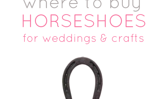 where to buy horseshoes for weddings crafts