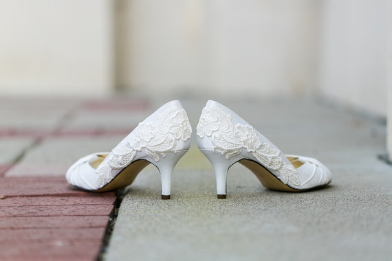 White Wedding Shoe (by Walkin on Air)