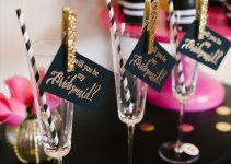 will you be my bridesmaid dinner party