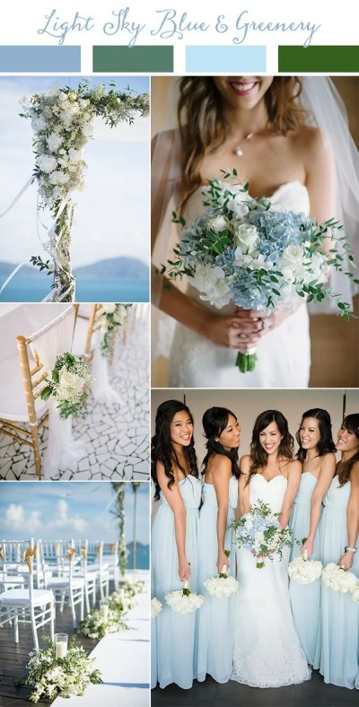Wedding Trends-Top 10 Wedding Colors Ideas for 2019 ...