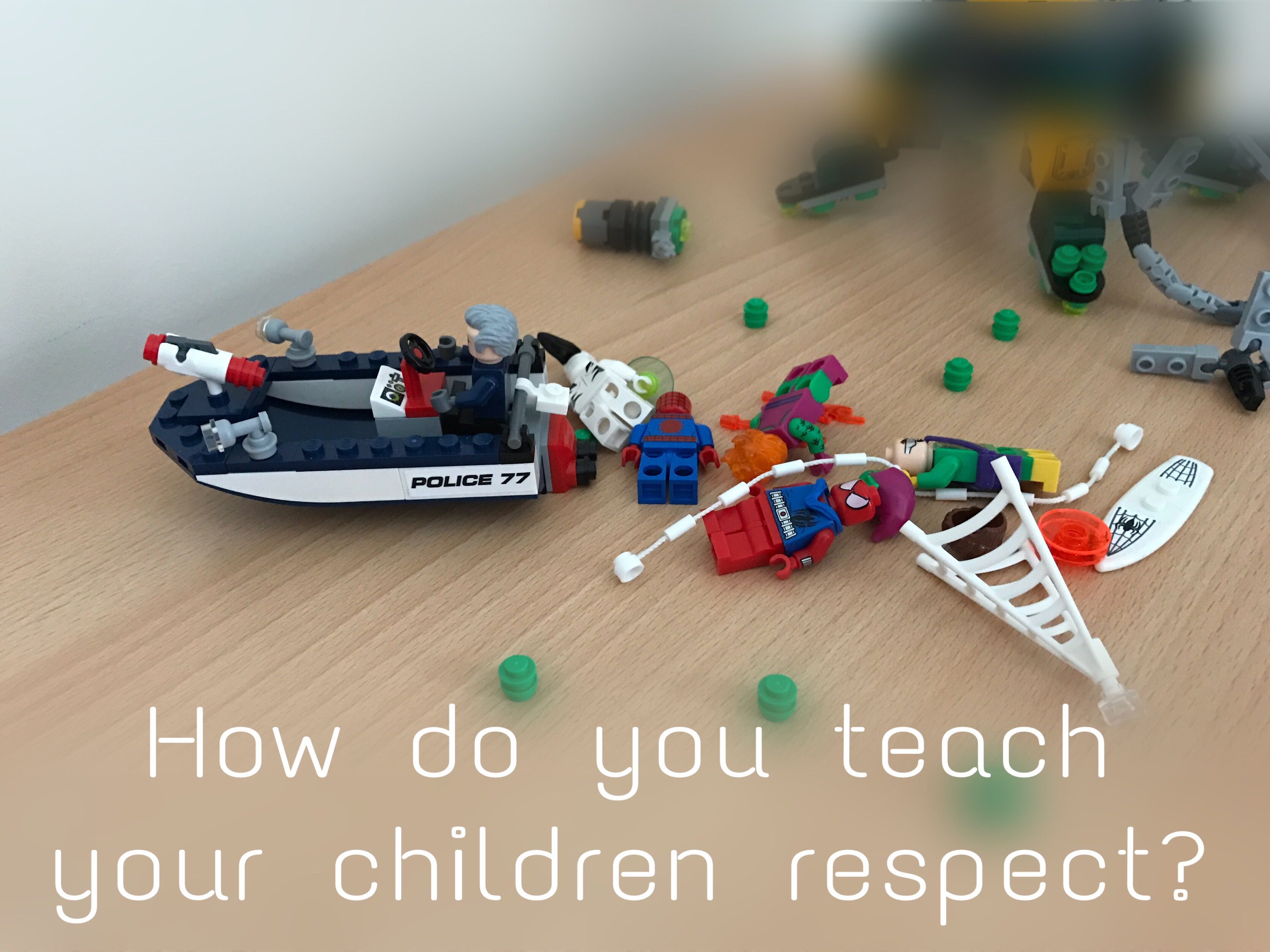 how to teach your child respect
