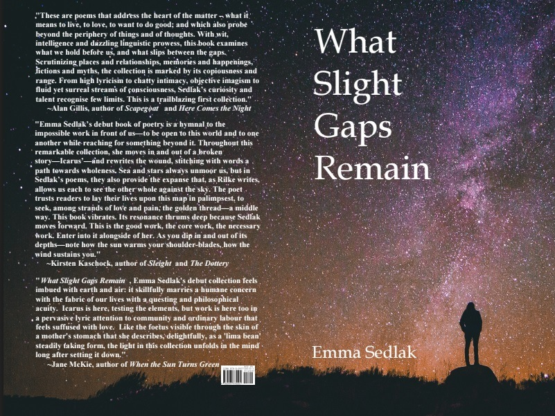 What Slight Gaps Remain by Emma Sedlak