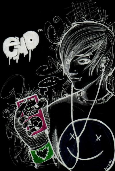 EMO Black n White   Emo wallpaper   Emo Girls   Emo Boys   Emo Fashion   Emo Love