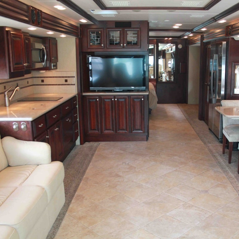 Empire RV motorhome hire whats included