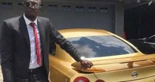 El lujoso Nissan de Usain Bolt