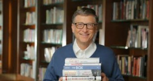 Los cinco libros preferidos de Bill Gates en 2016