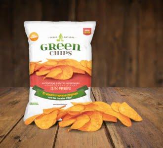 Batatas Green Chips