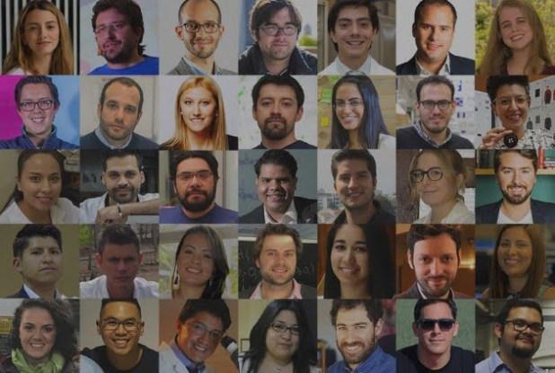 Mosaico_Ganadores_Innovadores menores de 35 Latinoamérica_Color