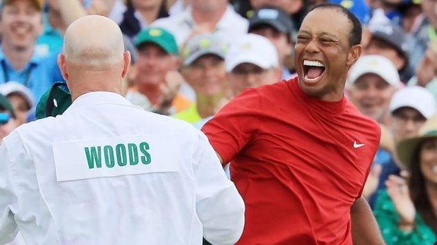 La lección de inteligencia emocional de Tiger Woods en el Máster de Augusta