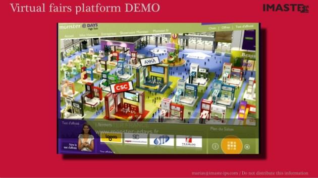 Virtual fairs platform. VC pitch