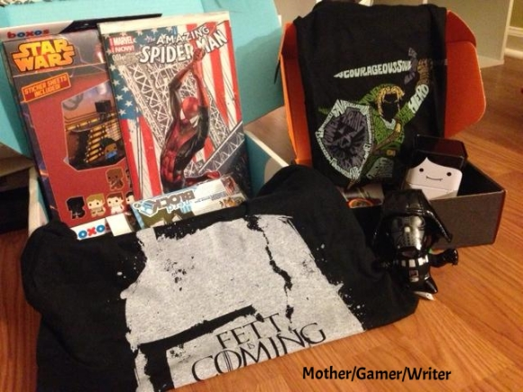 Nerd Block Subscription Box Review – May 2014: Star Wars, Spider-Man & Mario