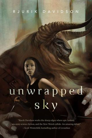 Featured Giveaway & Review: Unwrapped Sky (Caeli-Amur #1) by Rjurik Davidson