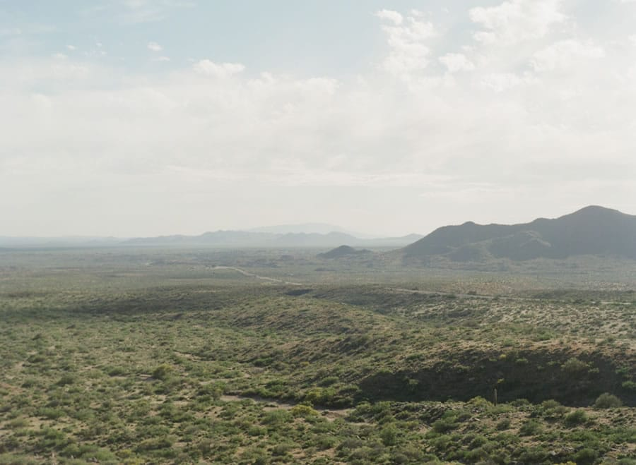 View from Yarnell Mountain