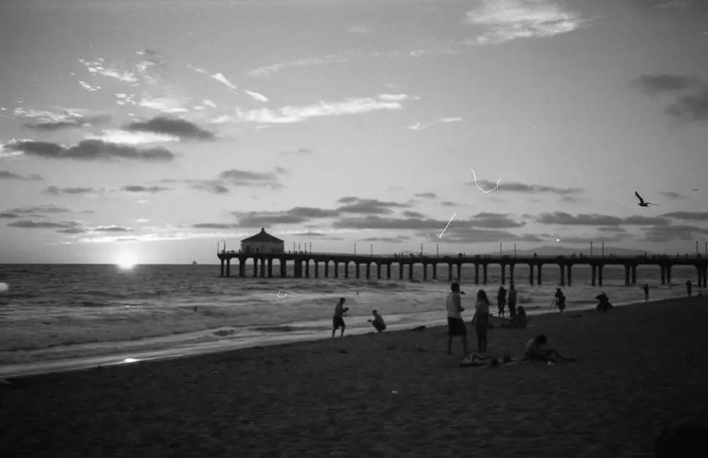 Manhattan Beach Pier | Arista Premium 400 ISO + Olympus OM 1