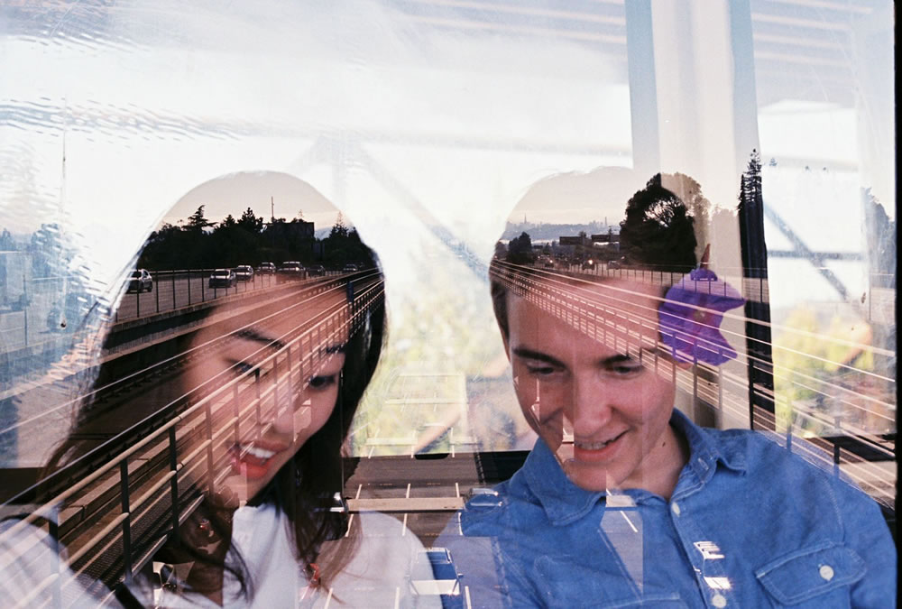 The double exposure that started it all - Fuji Superia 400