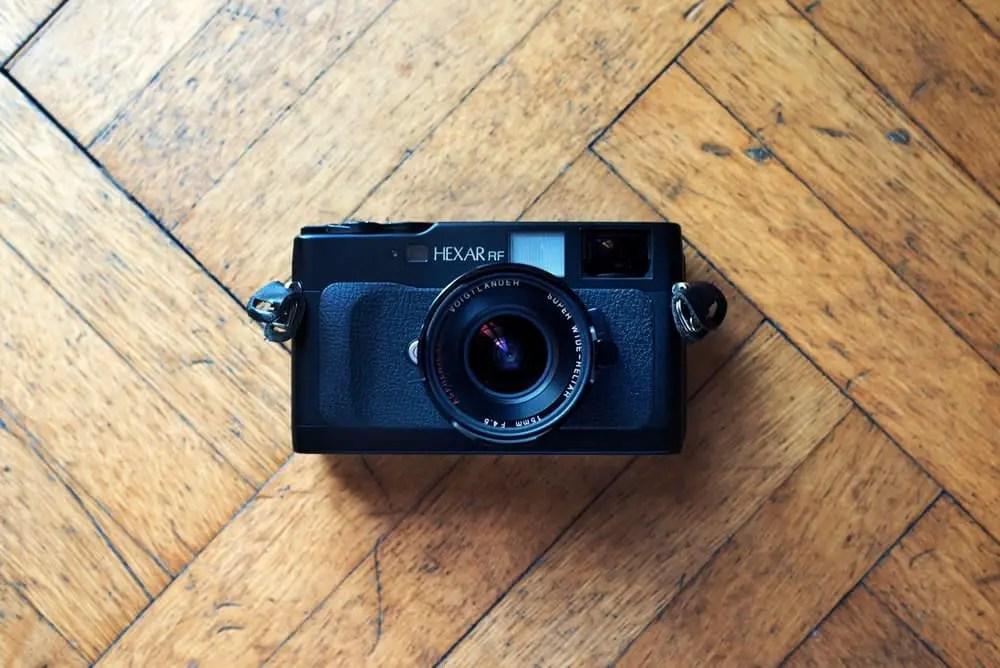 Konica Hexar RF w/ Voigtlander 15mm f/4.5