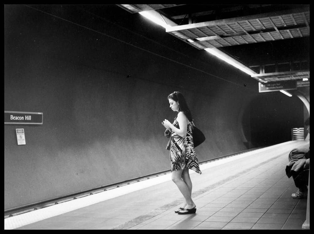 Ilford FP4 120, Mamiya 6, 75mm lens, Beacon Hill Light Rail Station