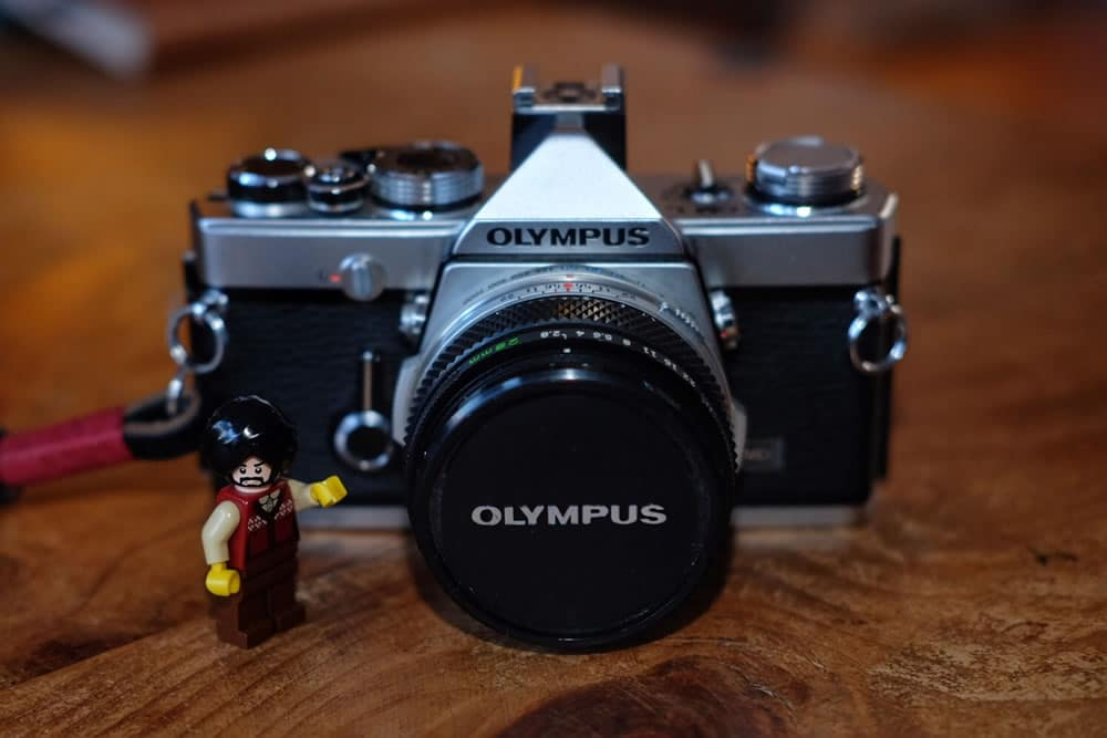 Olympus OM-1n - Comes with Lego Singh's approval
