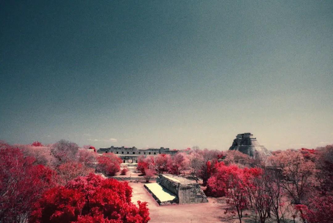 Mexico IR - Kodak AEROCHROME © Rob Hawthorn April 2016