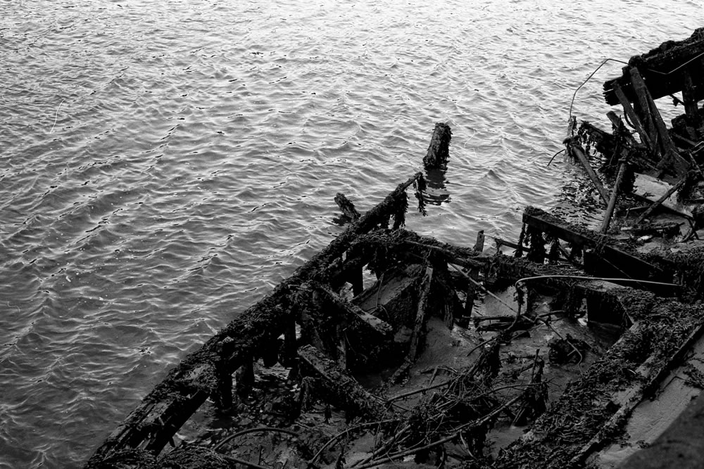 """Shipwreck"" Newcastle, England, April 2016 - Ilford HP5+/ Zeiss IKON ZM / Zeiss 50mm f/1.5"