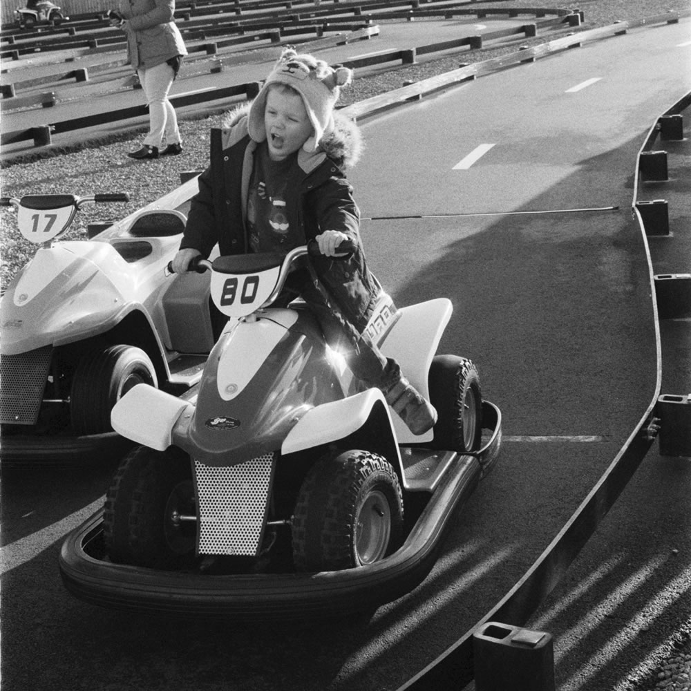 Speed Demon - Ilford Delta 400 Professional - Holga GCFN - Michelle Parr, Harman Technology Sales and Marketing