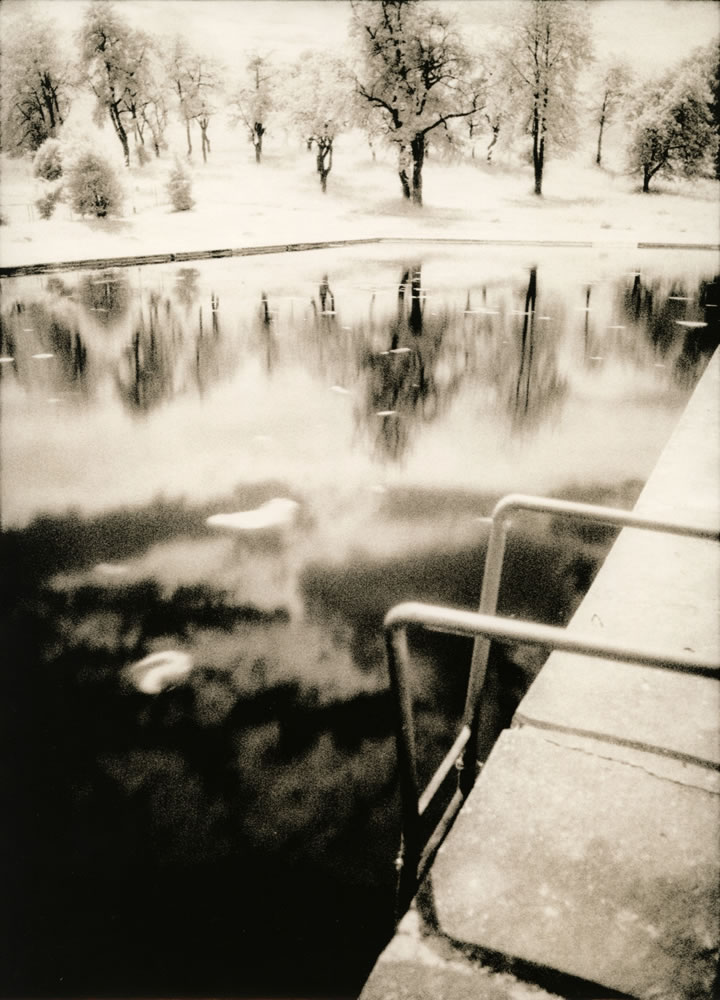 Shall we swim? (darkroom print scan)