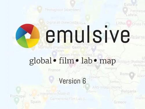 The EMULSIVE Global Film Lab Map (v6)