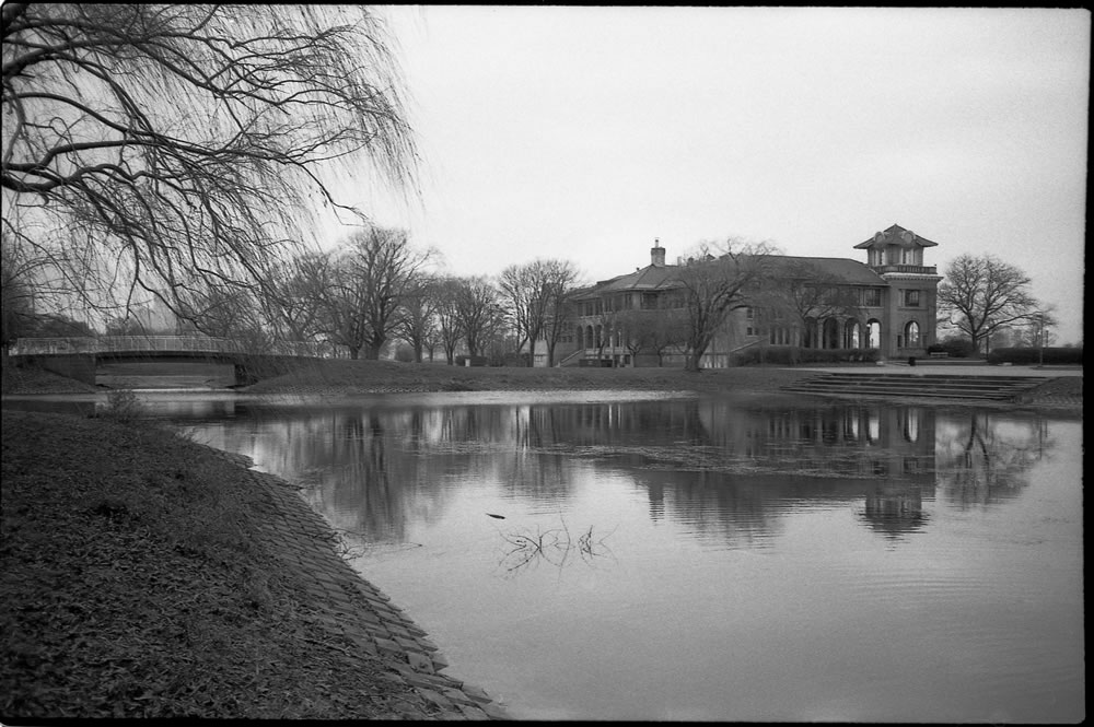 Belle Isle, Detroit - Canon SureShot (my mother's camera - I unearthed it last winter and it gave me one roll before it gasped its last breath) with Lomography Earl Gray film, on Belle Isle in Detroit)