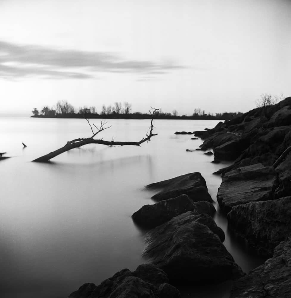 Long Exposure Test - ILFORD PAN F+ - EI: 50 - Aperture: f/11 - Shutter: 80s