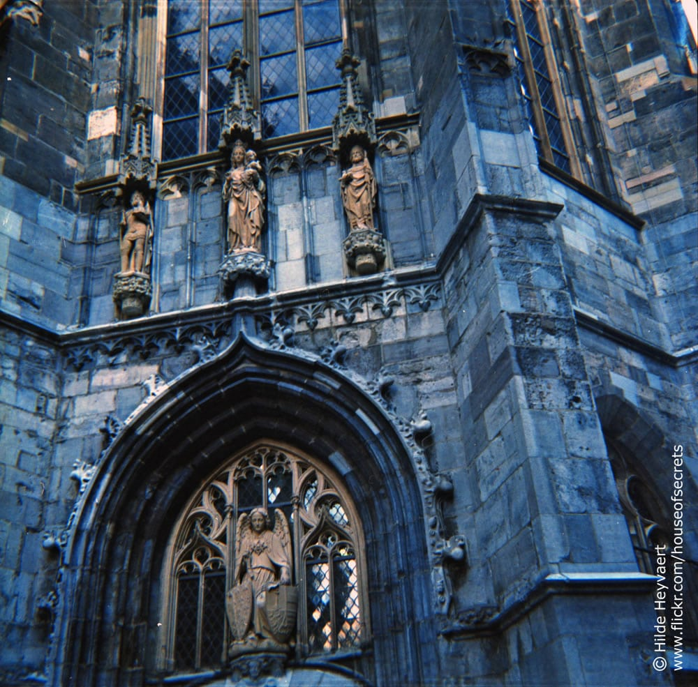 Aachener Dom (Aachen Cathedral), Germany - Agfa Click 1, Lomography 400 colour film