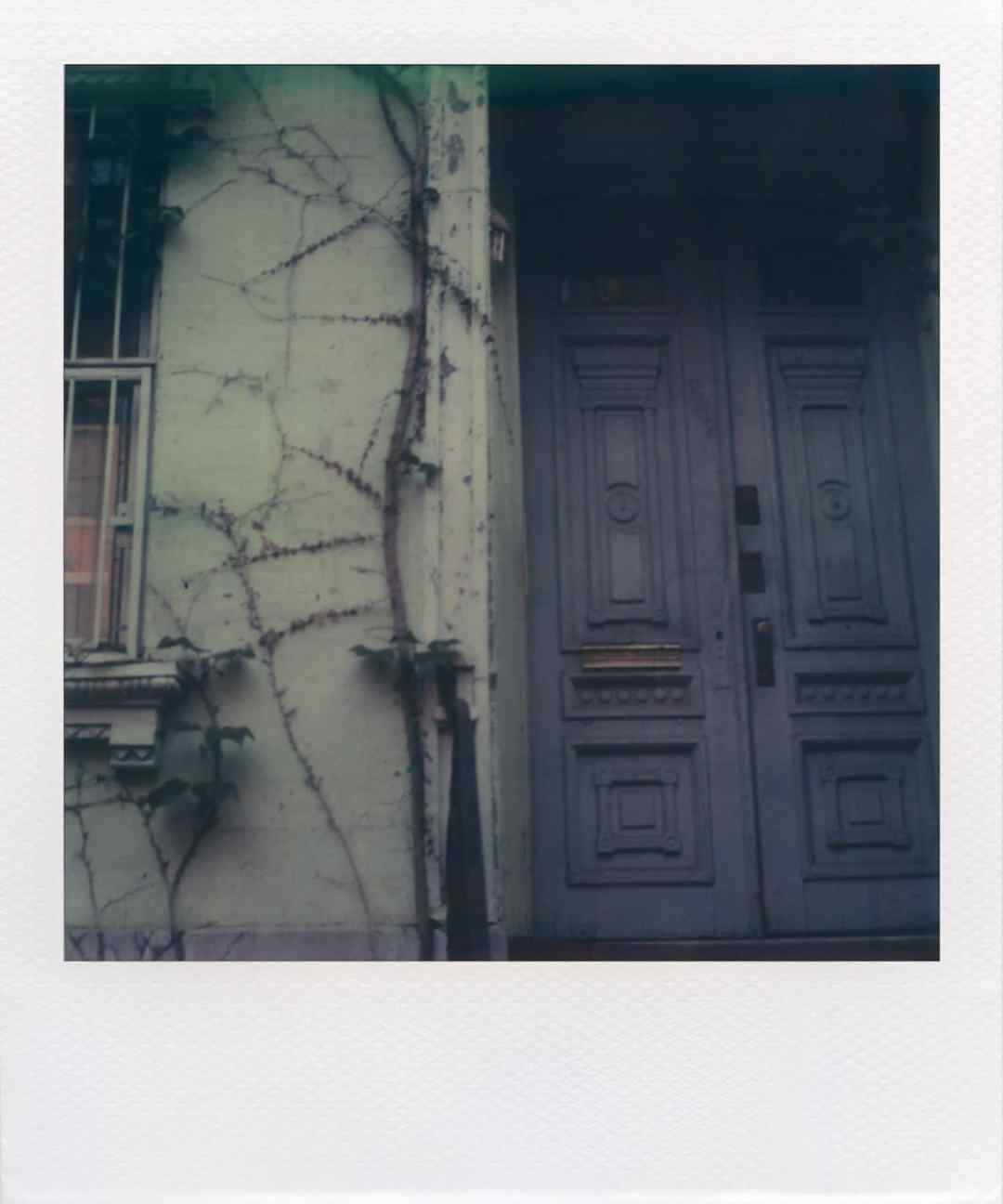 """East 7th St"" (NYC 2008) - Polaroid SX-70 Alpha 1 Land Camera and first-edition TZ Artistic film"