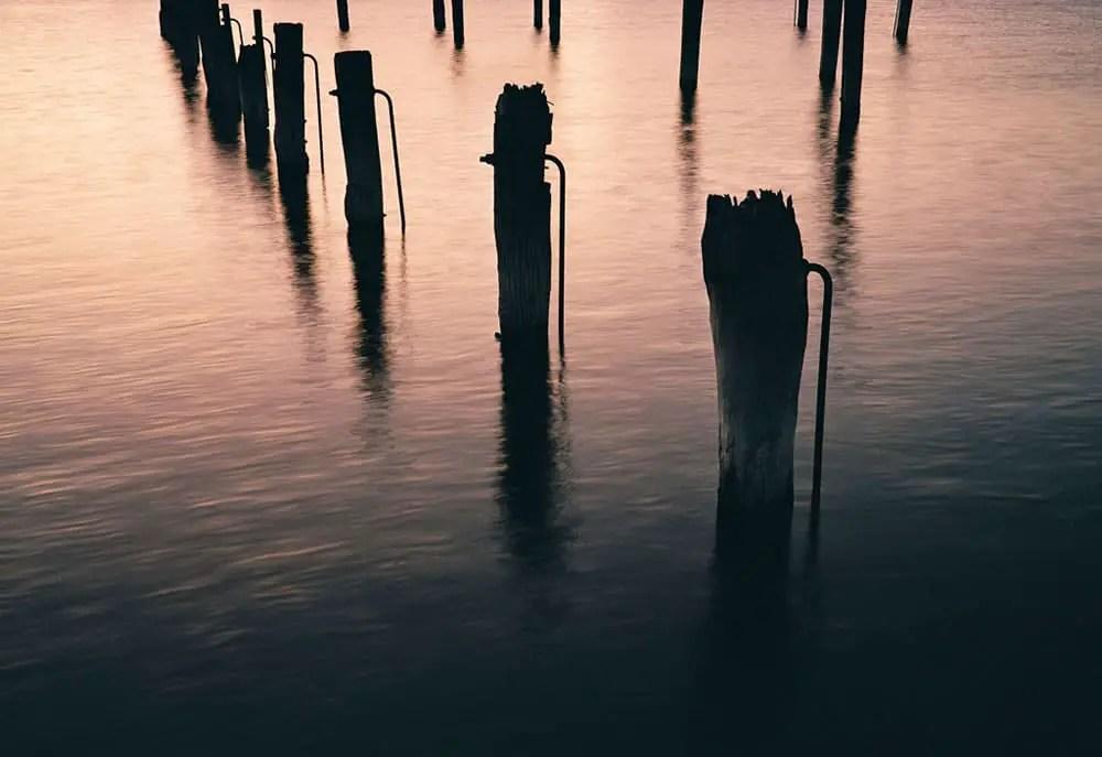 Port River - Fuji GW690III, Kodak Portra 800