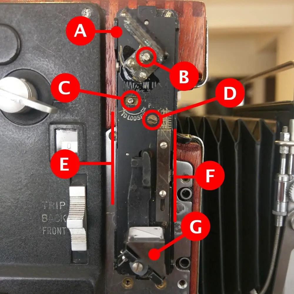 Speed Graphic - Rangefinder (Key)