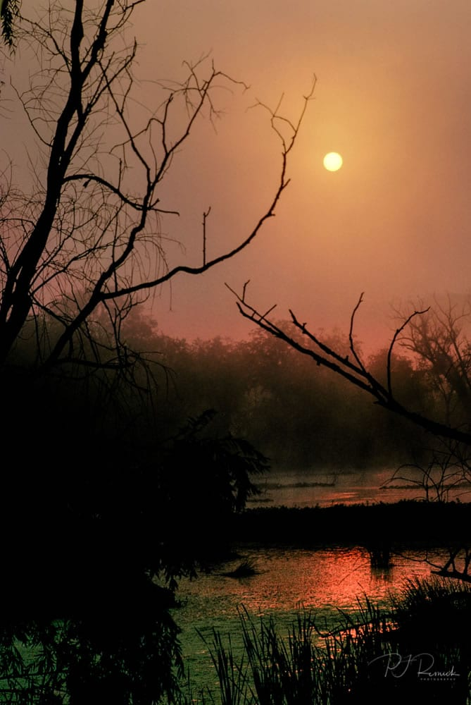Kodachrome - Sunrise at Cuyahoga Valley National Park, OH