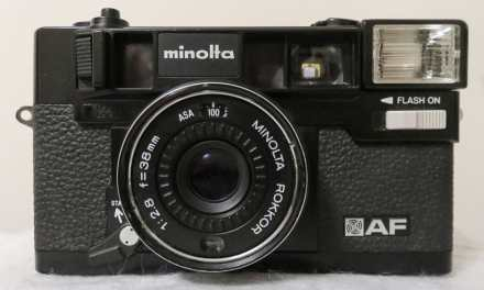 Camera review: Me and my Minolta Hi-Matic AF by Aditya W