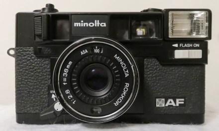 Camera review: Me and my Minolta Hi-Matic AF by Aditya W