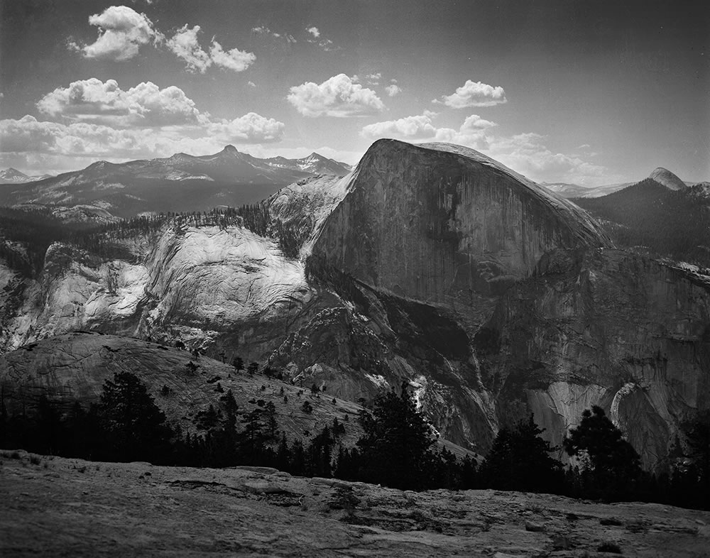 North Dome, Yosemite – Crown Graphic 4x5 with Optar 127mm – Ektapan 100