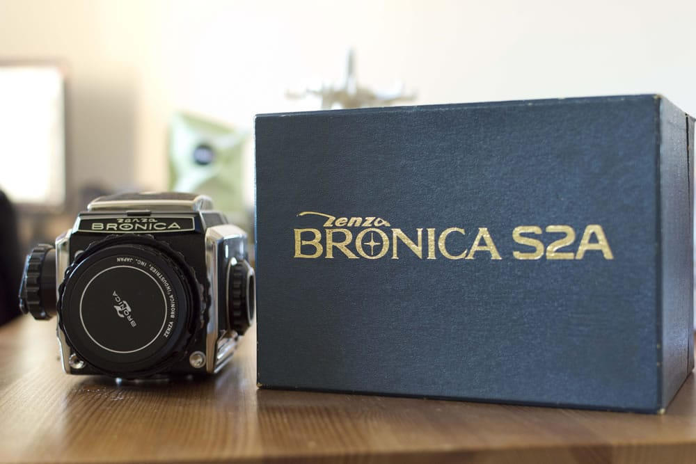 Camera review: me and my Zenza Bronica S2A by Ed Worthington