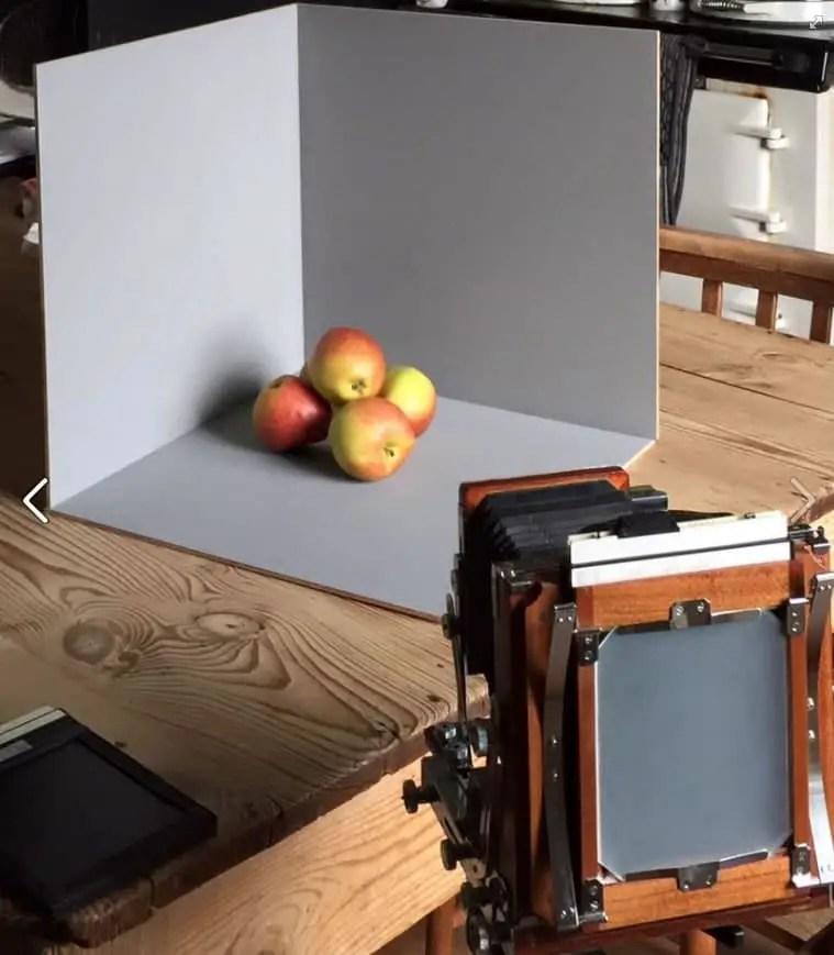 Nagaoka Seisakusho 4x5 - Framing apples