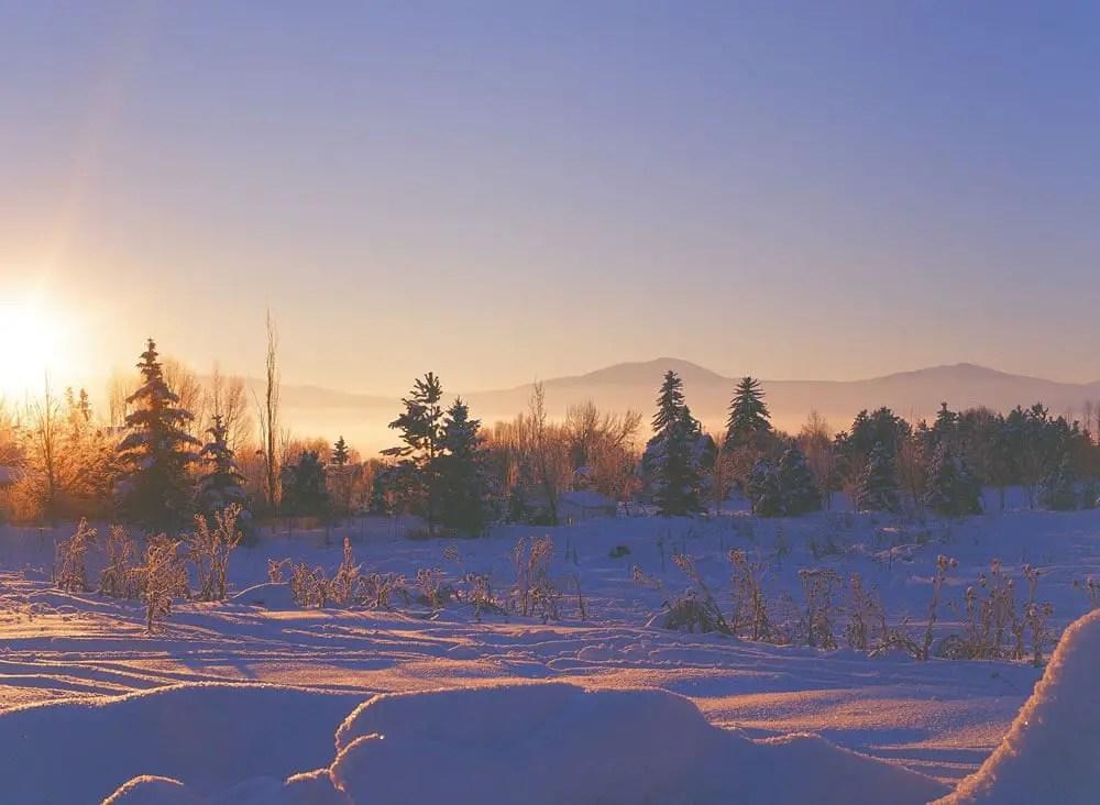Utah Sunrise on KODAK EKTACHROME 100 VS