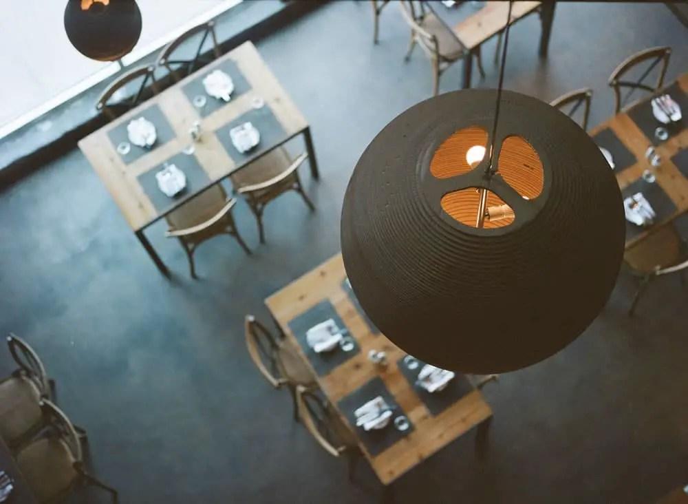 Dine In Light on KODAK Portra 400